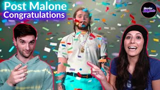 I APPROVE OF THIS!! COUPLE REACTS to Post Malone - Congratulations ft. Quavo