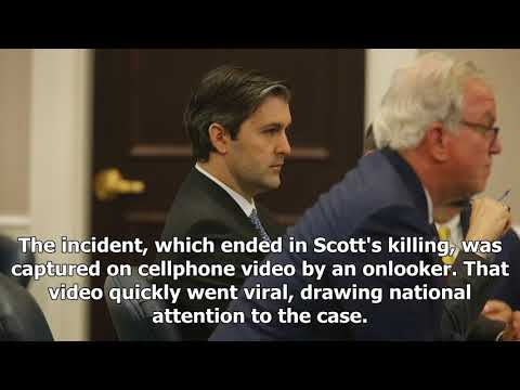 Former s.c. killed walter scott sentenced to 20 years in prison