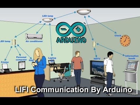 Lifi Communication by Arduino UNO Download Project 2019 February