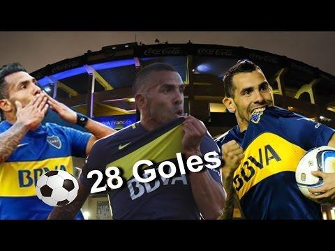 Los 28 goles de Tevez desde su vuelta