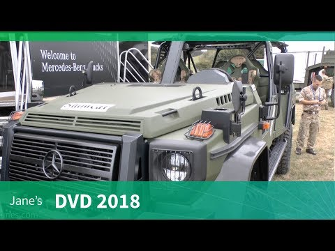 DVD 2018: Mercedez-Benz fleet of military trucks
