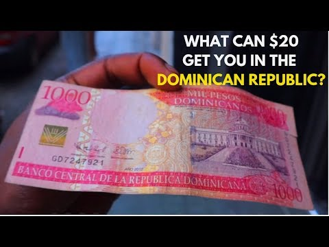 The COST OF LIVING in Santo Domingo and Boca Chica Beach, Do