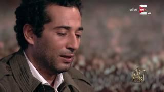 عمرو سعد يتلو القرآن على الهواء
