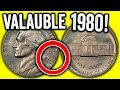 1980 ERROR NICKELS WORTH MONEY - VALUABLE US COINS TO LOOK FOR IN POCKET CHANGE!!