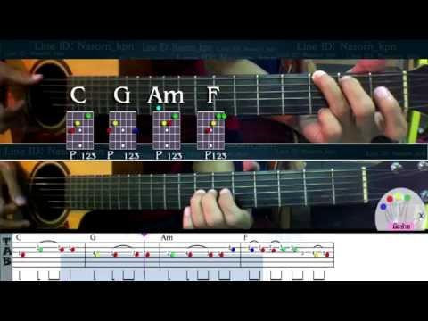 สอนกีตาร์ แพ้ทาง ลาบานูน Melody solo (ฝึกแกะเพลง+TAB ) By nasorn