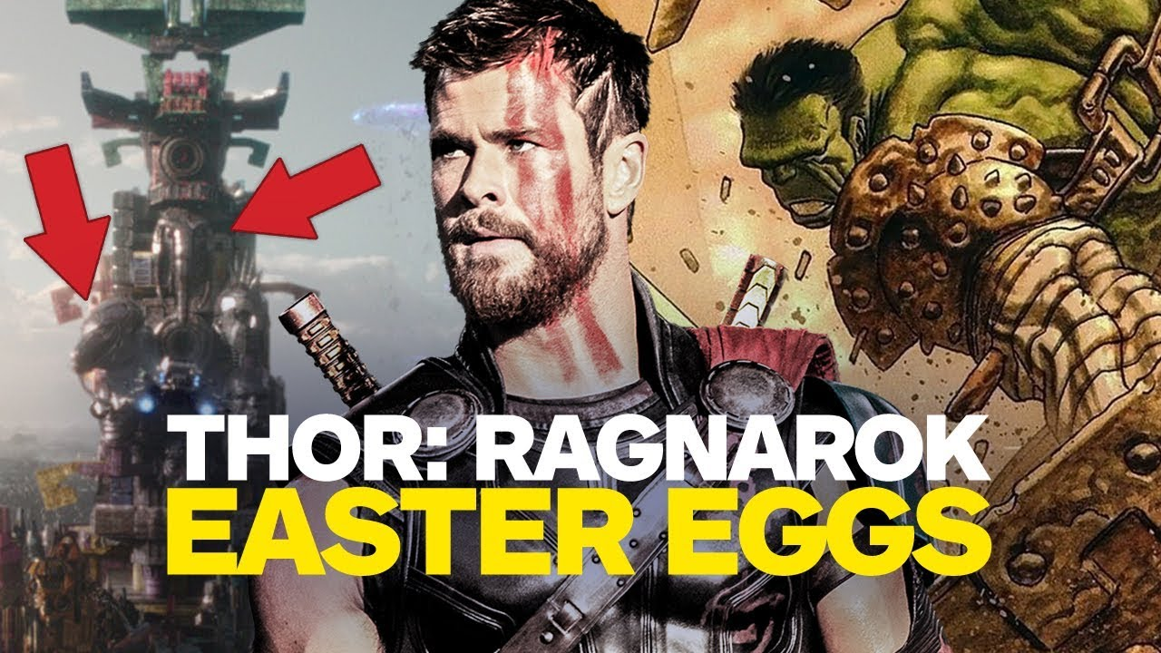 SPOILERS: Thor: Ragnarok Easter Eggs and References