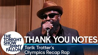 Tonight Show Fallon Five: Thank You Notes with Tarik Trotter