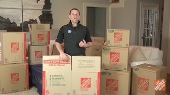 Moving Boxes: Types of Boxes for Your Move | The Home Depot