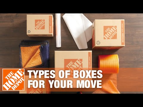 Moving Boxes: Types of Boxes for Your Move Mp3