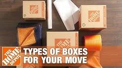 Moving Boxes: Types of Boxes for Your Move