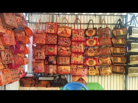 Chennai santhai / Leather Bags, Terracotta jwells & crafts / Exhibition & sale - Part 2