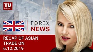 InstaForex tv news: 06.12.2019: USD subdued ahead of non-farm payroll report (USDX, USD/JPY, AUD/USD)