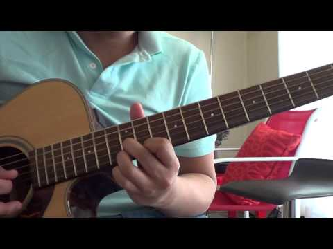 Heaven Knows (This Angel Has Flown) - Orange and Lemons (Guitar Cover)