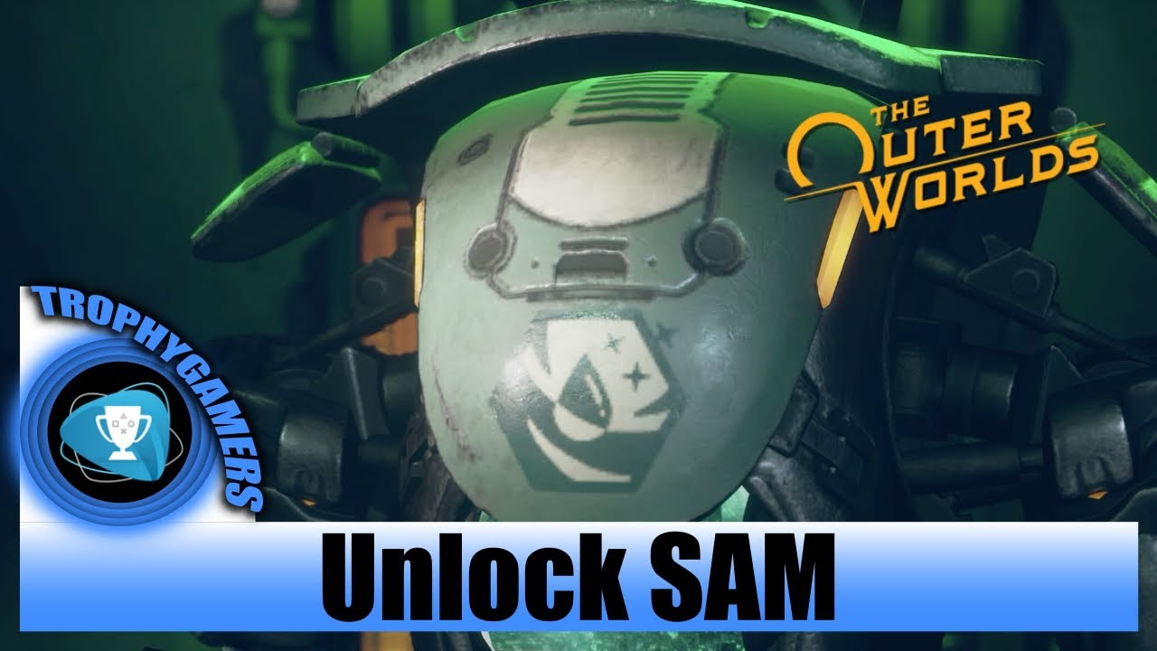 The Outer Worlds Unlock Companion Sam Youtube