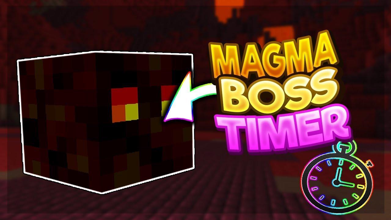 11 86 MB] Magma Boss NEXT SPAWN INDICATOR! (New Hypixel Skyblock