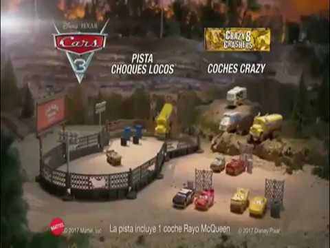 Cars Pista Choques Locos