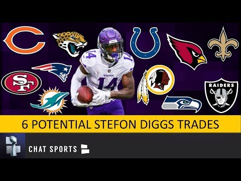 Stefon Diggs Trade Rumors: 6 Potential Trades For The Minnesota Vikings WR