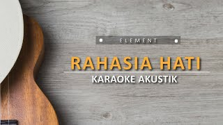 Download Lagu Rahasia Hati - Element Key (Dewangga Karaoke Akustik) mp3