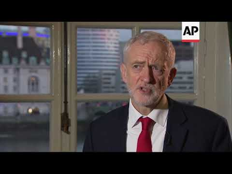 Corbyn reacts after 'serious' meeting with May on Brexit