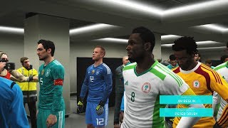 Nigeria vs Germany | Odemwingie Amazing Goal | Full Match | Pes Gameplay PC