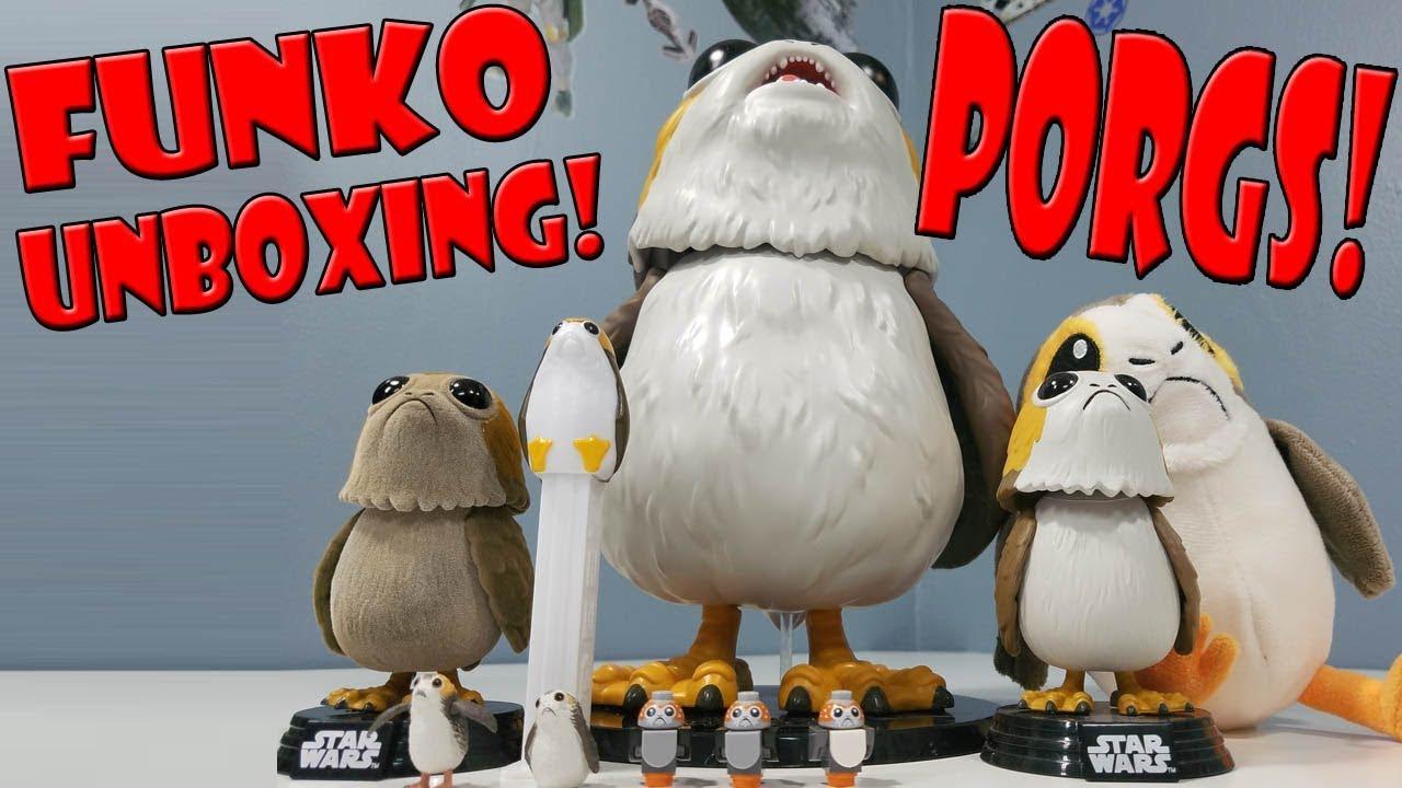 Funko POP Vinyl Star Wars The Last Jedi Sad Porg #261 Figure