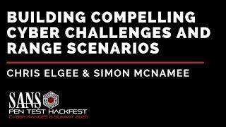 Building Compelling Cyber Challenges and Range Scenarios - SANS HackFest & Ranges Summit 2020