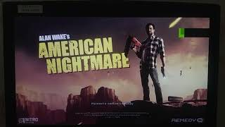 how to change language from rusian to english in game Alan wake's american nightmare