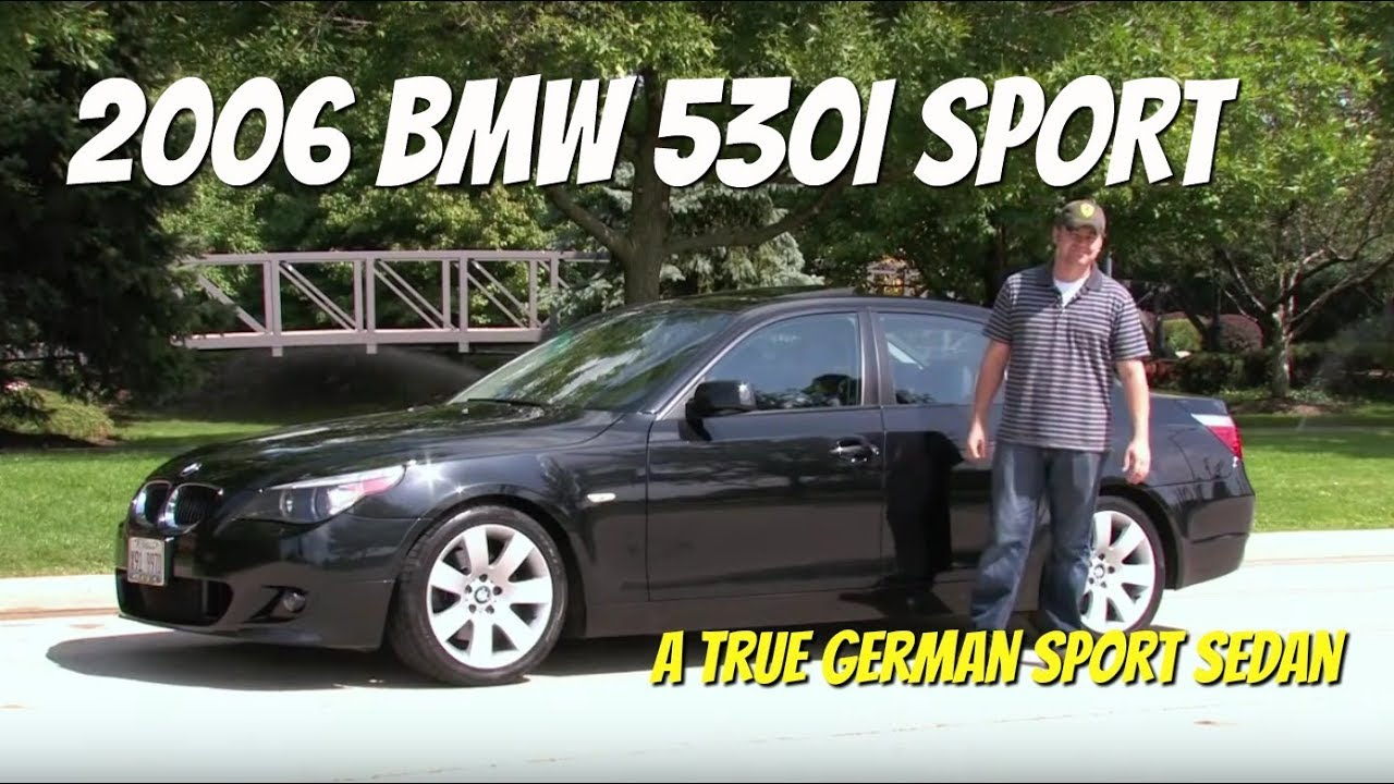 2006 BMW 530i SportVideo Test Drive with Chris Moran from