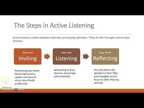 Active Listening in Social Work Practice CBoodram