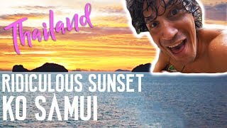 WATERFALLS, ELEPHANTS, & SUNSETS IN KOH SAMUI THAILAND