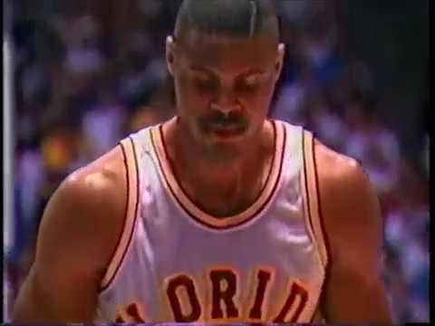 1992 West Region 2nd Rnd Florida State Basketball vs Georgetown
