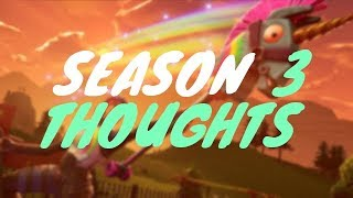 Season 3 Thoughts - Battlepass/Hand Cannon/Bugs (Fortnite Battle Royale)
