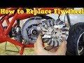 How to Replace Flywheel in 2 Stroke Pocket Bike Engine PS50 from Nitro Motors