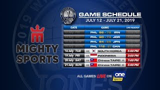 JULY 16: 41st William Jones Cup: Mighty Sports - Go for Gold Philippines vs South Korea