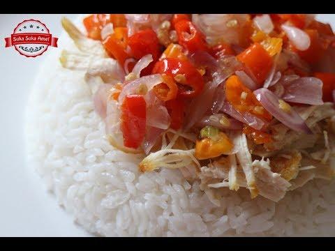 Nasi Ayam Sambal Matah | Suka Suka Amel