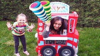 ÖYKÜ Pretend Play With Ice Cream Sweet Truck