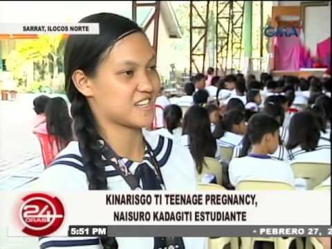 Teenage Pregnancy Forum in Sarrat, Ilocos Norte