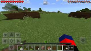 Minecraft PE fazenda casas dos animas 01