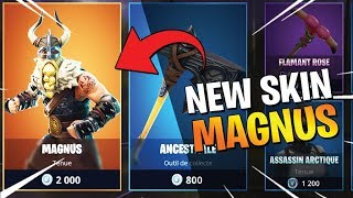🔴 LIVE FORTNITE EN - NEW 'LEGENDARY SKIN' MAGNUS - WORLD CHAMPION FRANCE!
