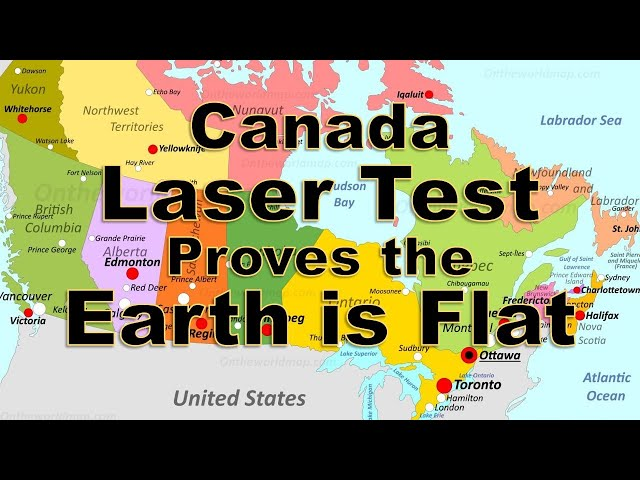 Canada Laser Test Proves the Earth is Flat