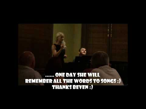 Some Blonde Chick Lindi Jane impromptu sing with Beven Addinsall @ Elsternwick Pub Melbourne 2015