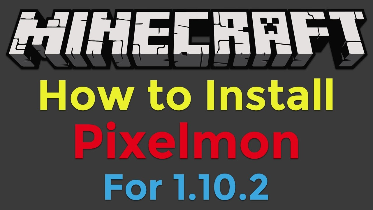 How To Install Pixelmon For Minecraft YouTube - Skins para minecraft 1 8 minecrafteo