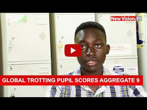 Globe-trotting pupil scores aggregate 9