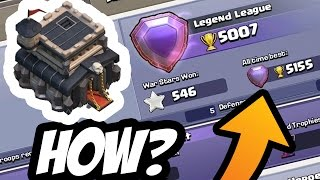 TOWN HALL 9 IN LEGEND LEAGUE! - ATTACK REPLAYS - Clash Of Clans