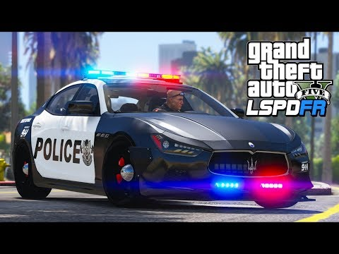 GTA 5 - LSPDFR Ep352 - My Maserati Almost Gets Stolen!!
