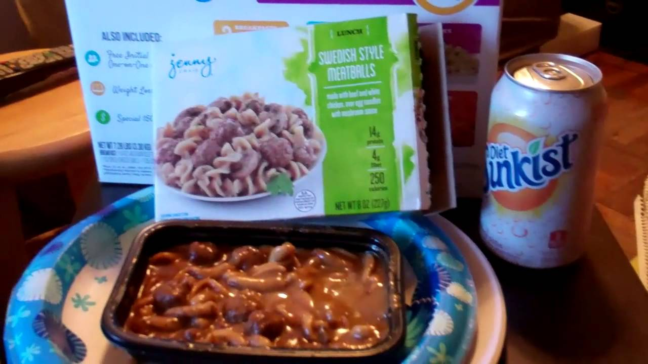 Jenny Craig's 3 Day Diet Day Food Diary - YouTube