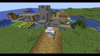 Famcraft S1 EP6 fortess and icespikes biome!