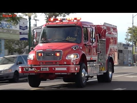 San Diego Fire Responding (Compilation 16)