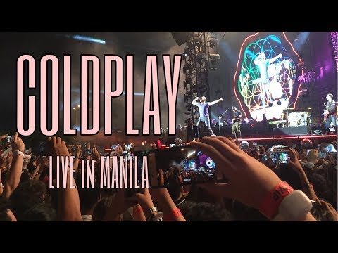 COLDPLAY EXPERIENCE (Coldplay Live In Manila - A Head Full Of Dreams Tour 2017)