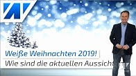 Weiße Weihnachten 2019: Das sind die aktuellen Wetteraussichten!